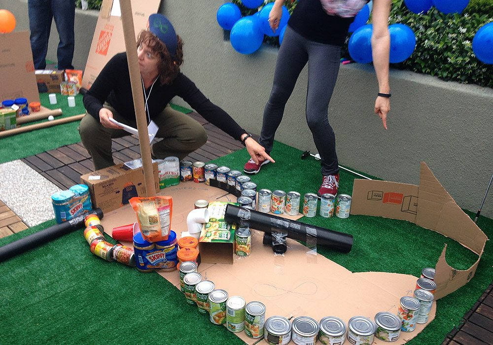 Mini Golf Course BuildFood Donation Group Charity Events