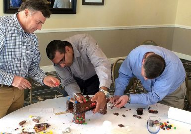 Chocolate Architect Team concentrating