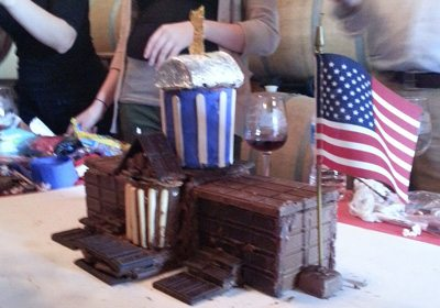 Chocolate Architect building