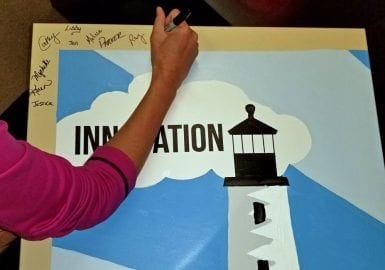 signing corporate canvas