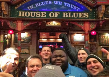 Team at House of Blues