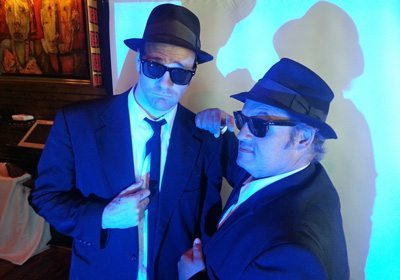 Picture of Jake and Elwood at our House of Blues® Celebrity SmartHunt®