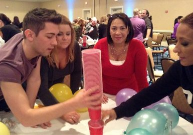Minute 2 Win It Cup Stacking Challenge