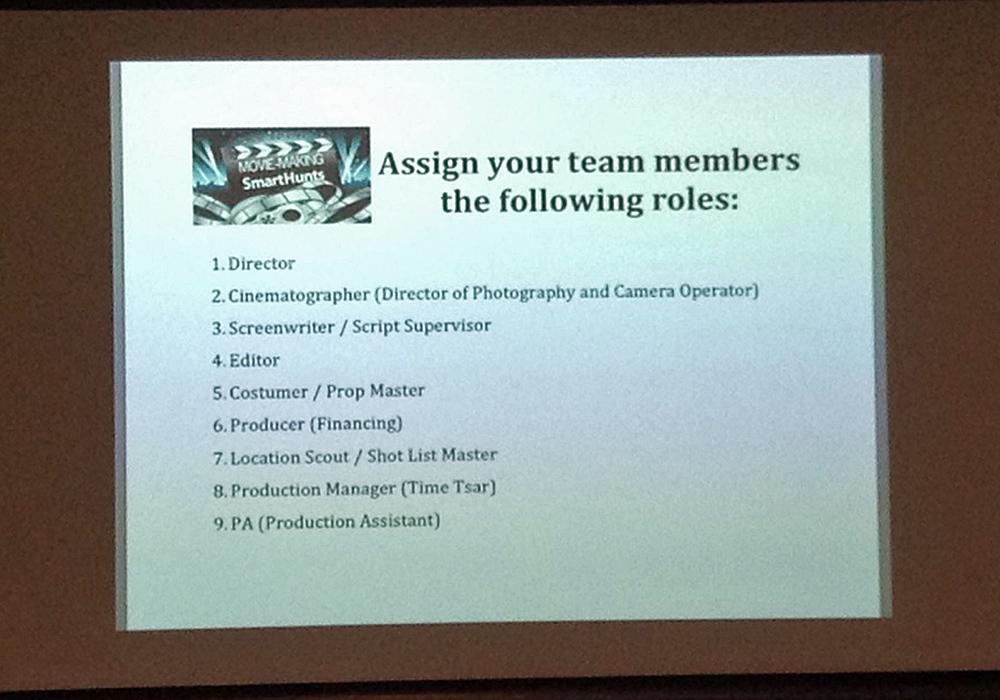 Movie-Making Team Building Activity | Corporate Scavenger Hunts