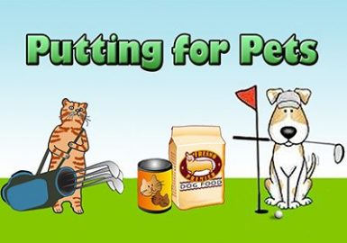 Putting for Pets cartoon