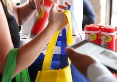 Packing a We Care for Schools™ donation kit