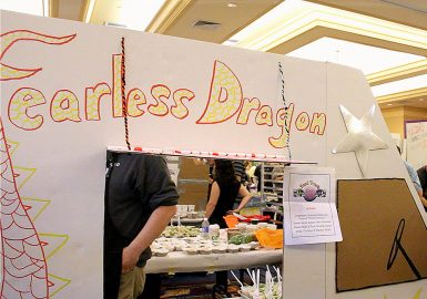Participants Food Truck design - Fearless Dragon