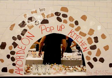 Participants food truck design - AKORDEON Pop Up Kitchen