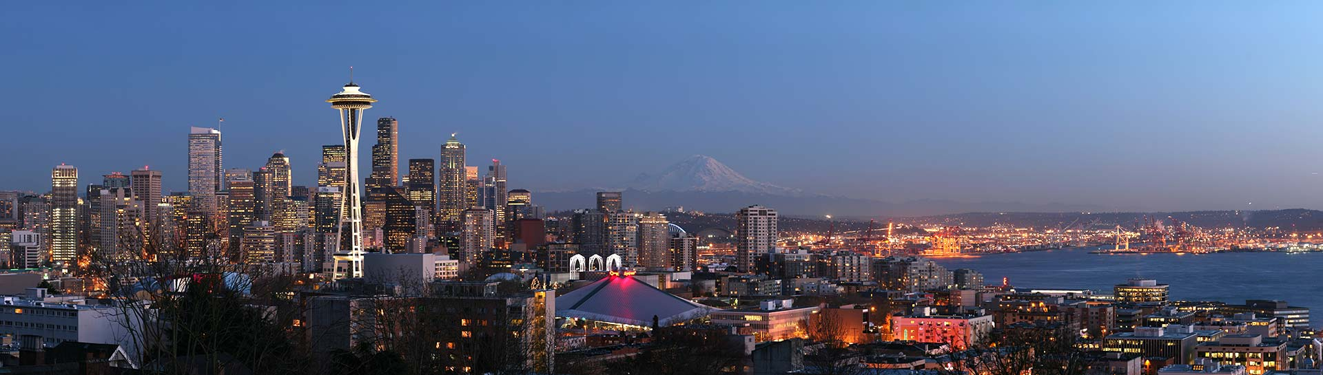 Seattle skyline panoramic