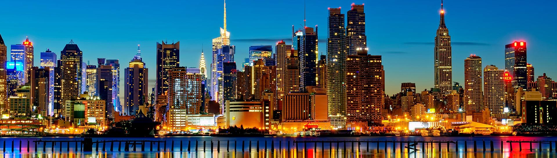 New York City skyline panoramic