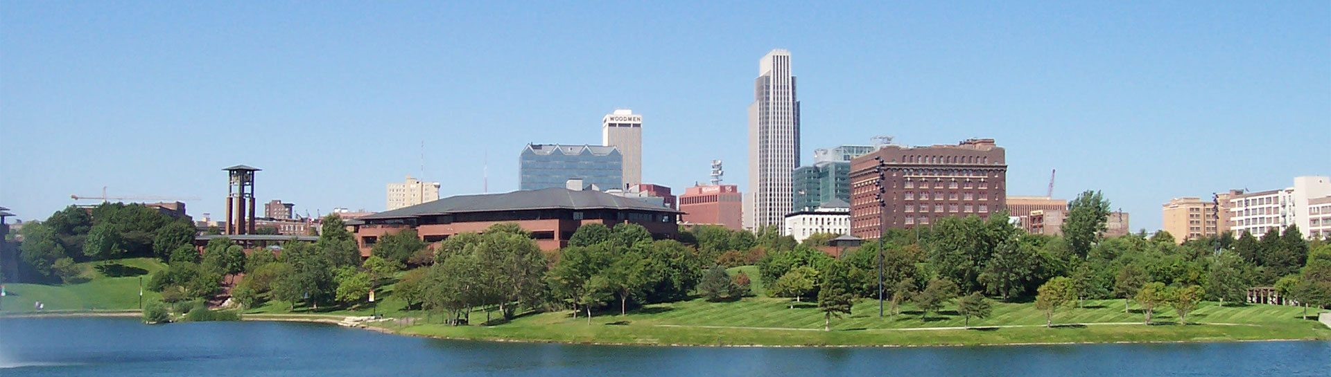Omaha Skyline panoramic