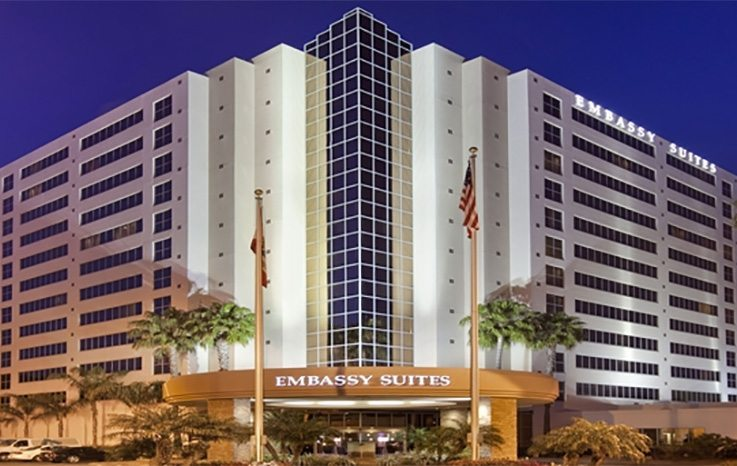 The Embassy Suites San Diego