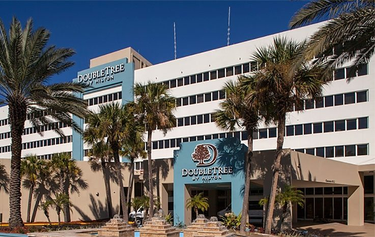 The DoubleTree by Hilton Hotel Jacksonville Airport