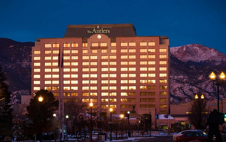 Antlers Hotel - Colorado Springs