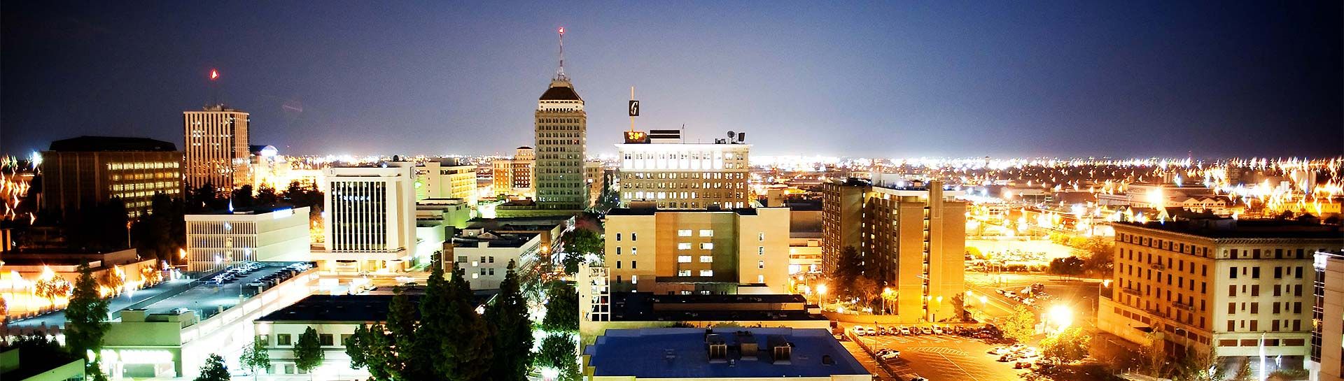 Fresno Skyline Panoramic