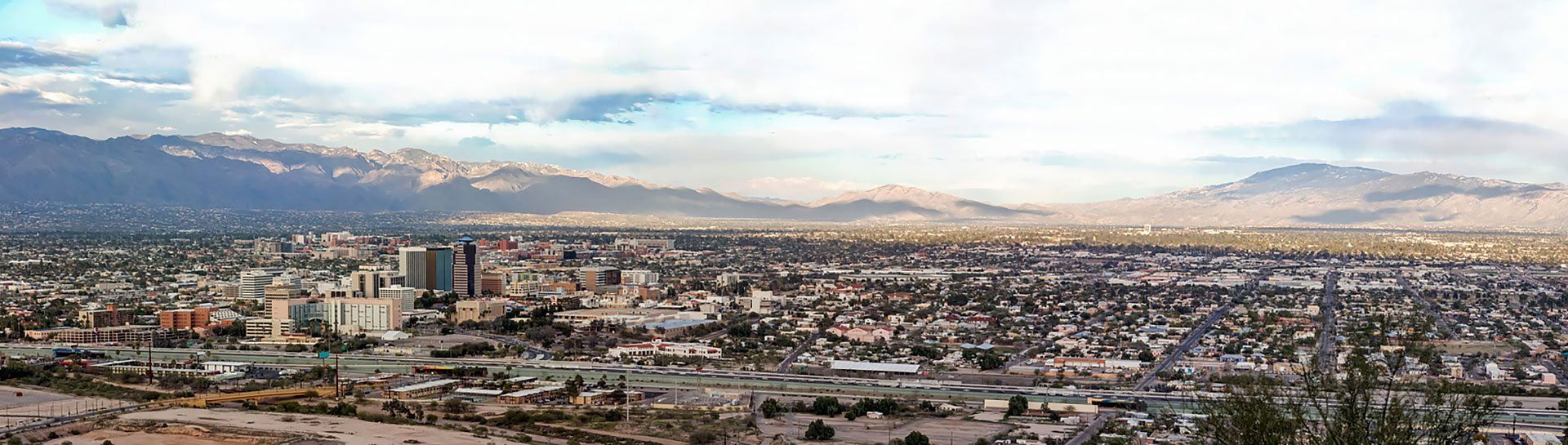 Tucson skyline panoramic