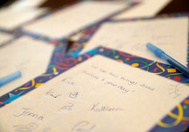 Letters of hope Helping the Homeless