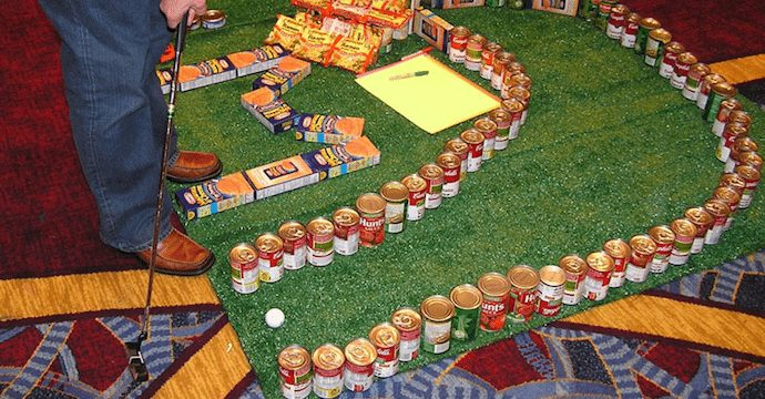 food-donation-mini-golf