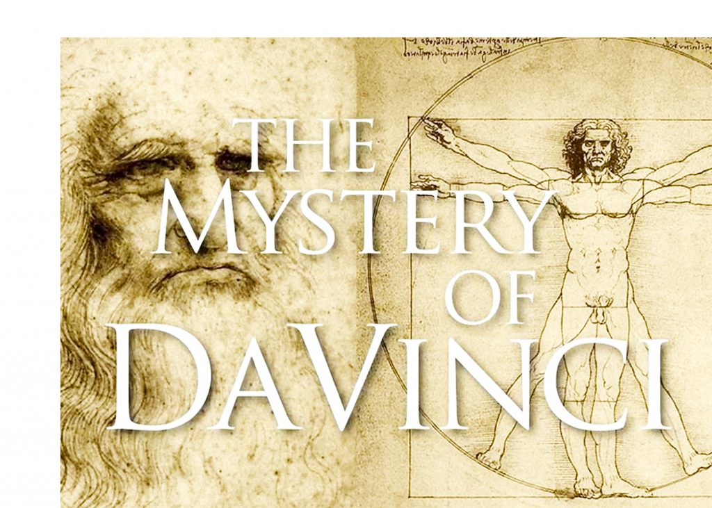 Mystery of Da Vinci graphic artwork