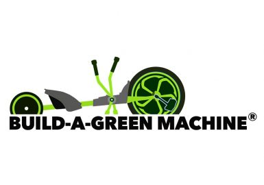 Build a green machine logo
