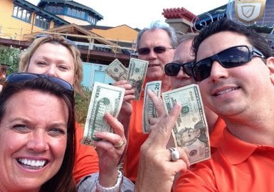 Group with cash