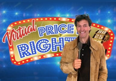 Virtual Price It Right, Survey Says, Jeoparody, Name That Tune, Interactive Magic, Scavenger Hunt Games, and many more!